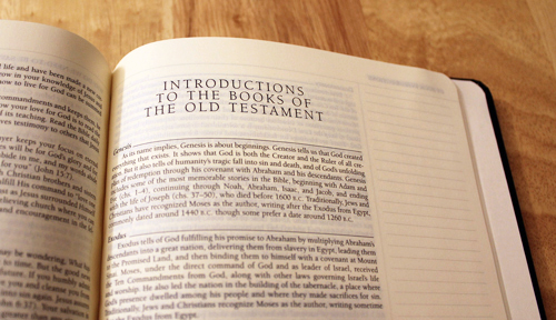 ESV Journaling Bible, Intro to New Testament